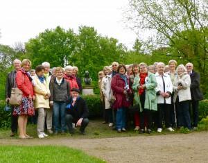 Gruppenfoto der Exkursionsteilnehmer