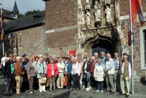 Gruppenbild Exkursion Aachen GHV