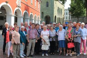 Die Teilnehmerinnen und Teilnehmer der Exkursion nach Soest