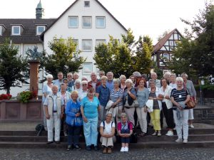 Gruppenfoto Exkursion Marburg 2016